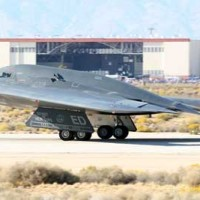 Most Expensive Plane B2 Taking Off Edwards AFB