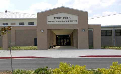 Fort Polk Library building