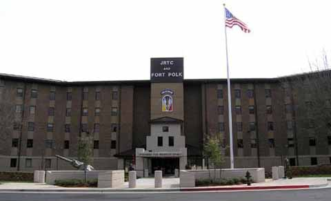 Fort Polk headquarter building