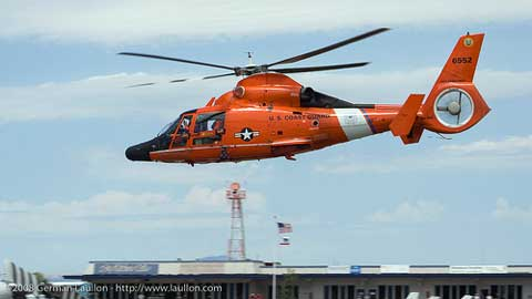Kodiak US Coast Guard helicopter
