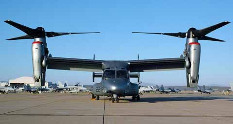 Military Machinery - Osprey at MCAS Miramar