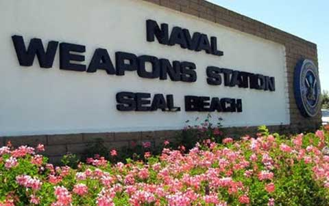 NWS Seal Beach Front Sign