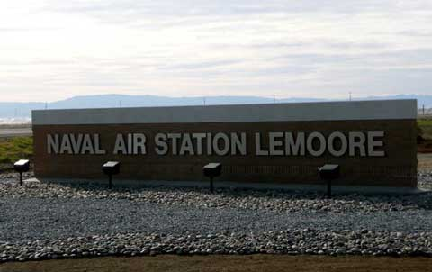 Naval Air Station Lemoore Front Gate