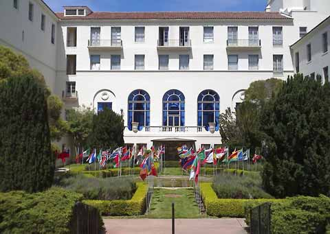 Naval Postgraduate School Main Entrance