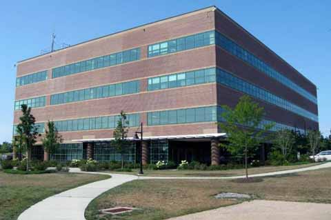 USCG Marine Safety Lab located on 4th floor in this building