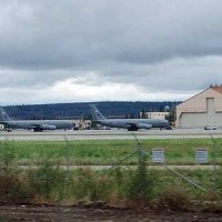 Military Planes at Eilson air force base