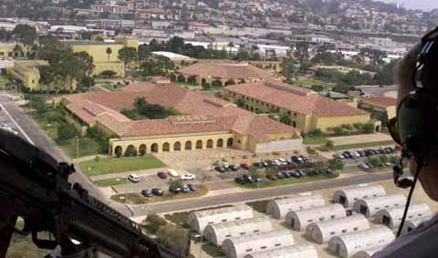 mcrd San Diego from air
