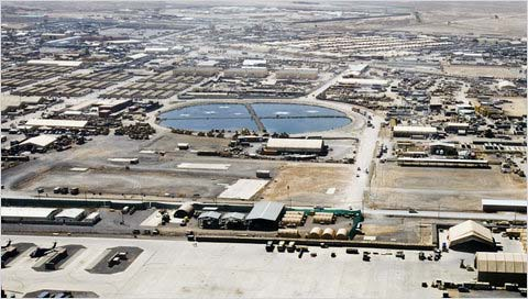 Areal View fo Kandahar Airfield