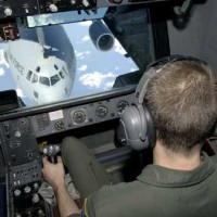 Aviation simulator at McGuire AFB