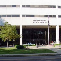 National Naval Medical Center Sign