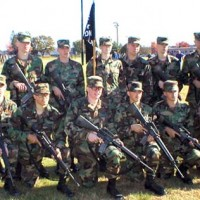 Equipped Soldiers at Fort Devens