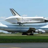 Altus Air Force Base and shuttle discovery launch