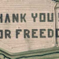 Thank you for freedom at Offutt Air Force Base