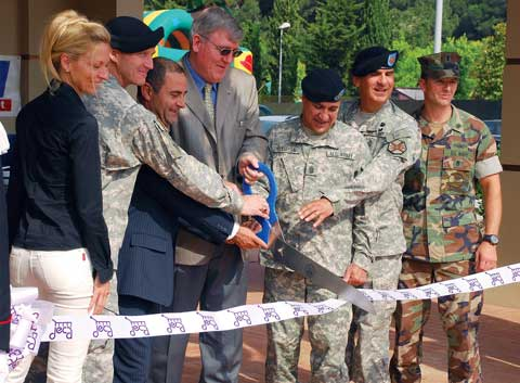 Camp Darby opening