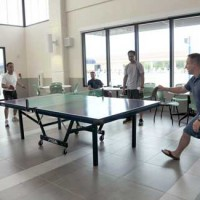 Joint Region Marianas playing ping pong