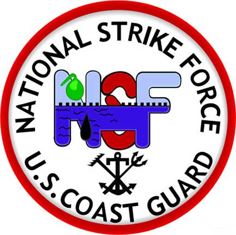 logo of USCG National Strike Force