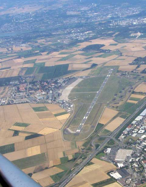 Overview of Wiesbaden Army Airfield