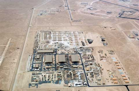 Areal View of Al Udeid Air Base
