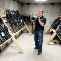 Weapon vault at Fort Bragg