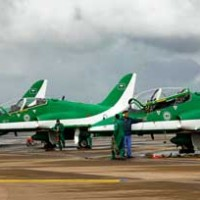 Planes at King Abdulaziz Naval Base