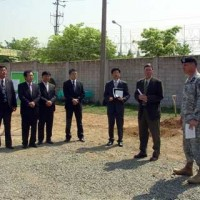 Important persons visits Camp Carroll