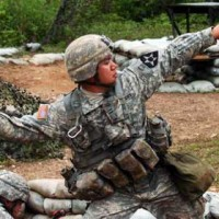 Training at Camp Casey