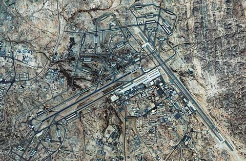King Khalid Air Base Areal view