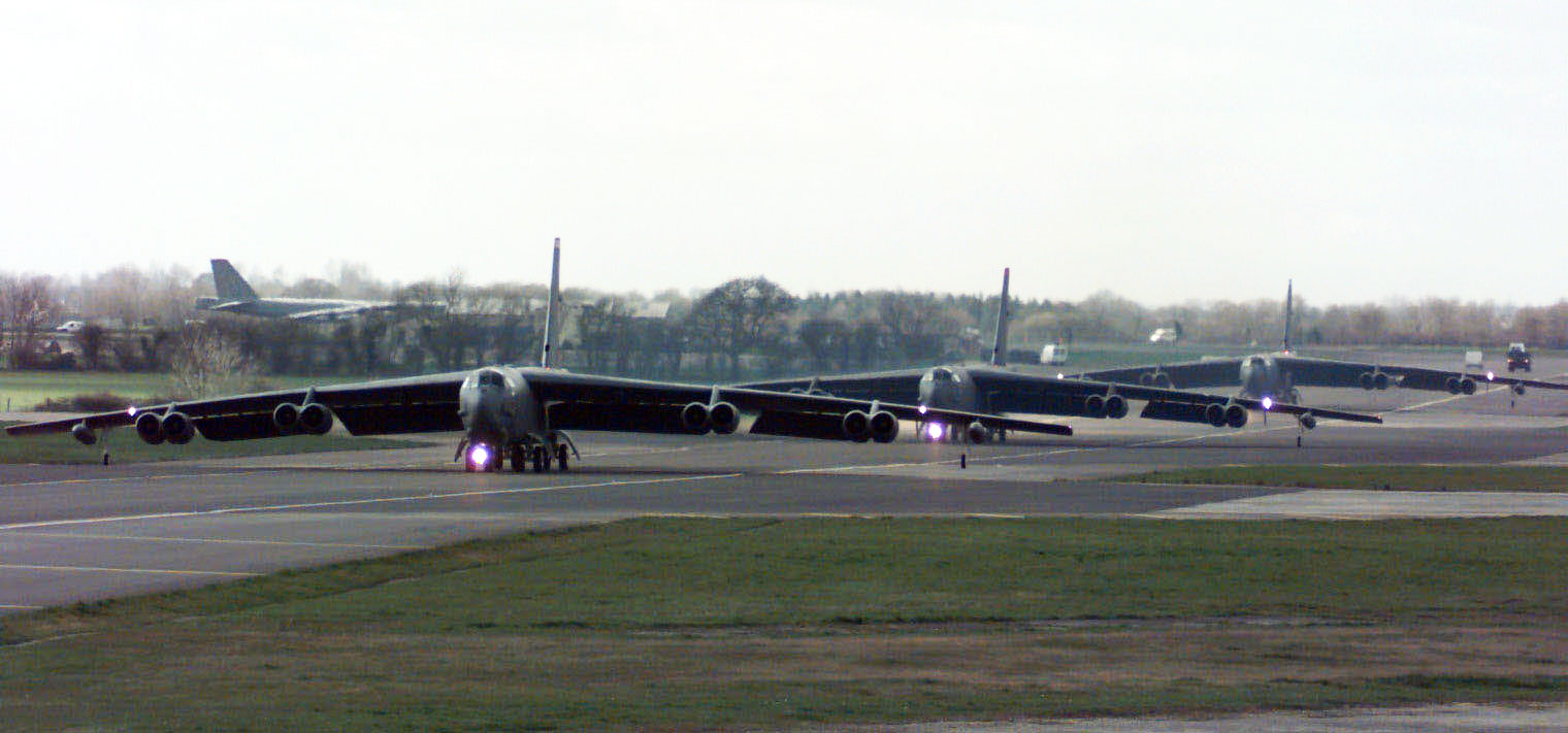 Royal Air Force Fairford Areal View