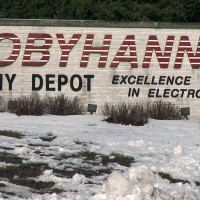 Tobyhanna army depot sign