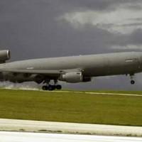 Military plane lands at AFB Barksdale