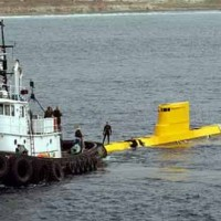 AUTEC Research Submarine after successful operation