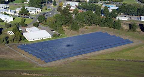 CGTC Petaluma Solar Panels