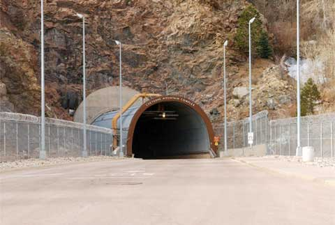 Cheyenne Mountain Front Gate