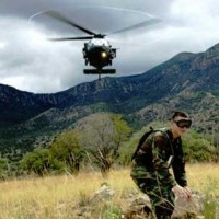 Fort Huachuca Helicopter Landing