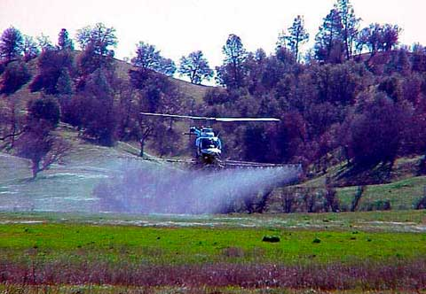 Fort Hunter Liggett Helicopter Flight