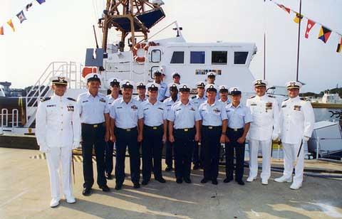 ISC Kodiak US Coast Guard Float