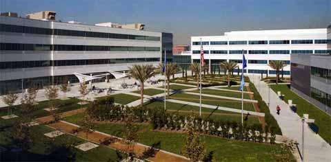 Los Angeles Air force base main buildings