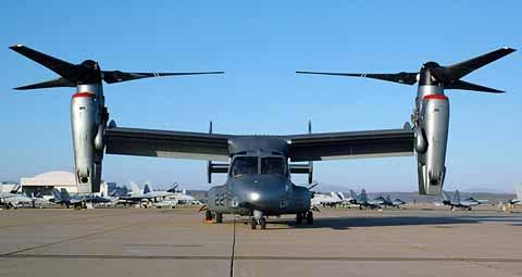 Military Machinery - Osprey at MCAS Miramar
