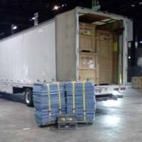 Truck inside MCLB Albany GA