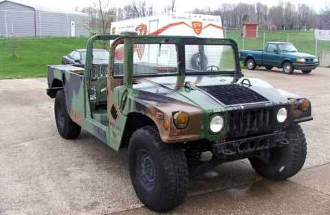 NSWC Crane Division Equipped Hummer