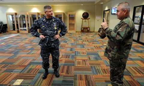 Naval Construction Battalion Center Soldiers