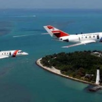 USCG Planes crossing Clearwater area