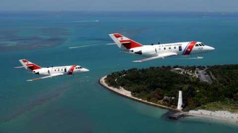 USCG Planes crossing Clearwater area