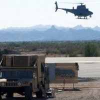 Yuma Proving Ground Helicopter landing
