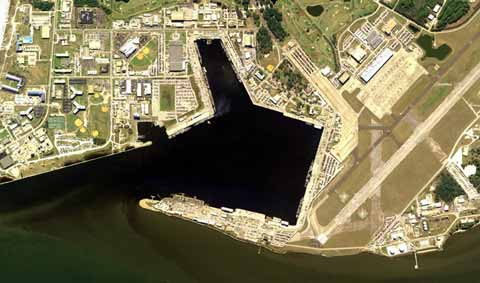 Aerial Naval Station Mayport