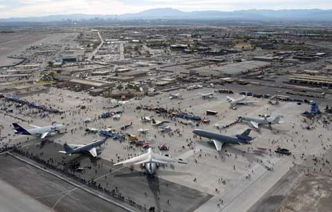 Airshow at Nellis AFB