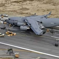 C17 has landed at Bagram Airfield