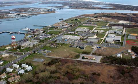 Areal View of Training Center Cape May Areal View