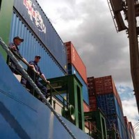 Container Inspection Training and Assistance Team at work