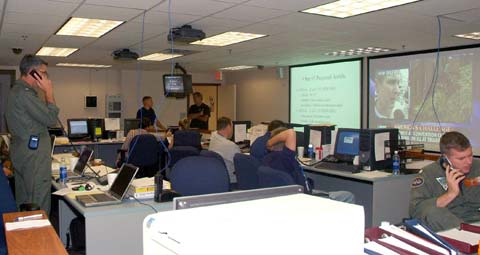 Emergency Operation Center  at NAS Joint Reserve Base New Orleans
